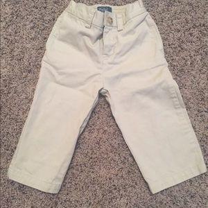 Boy's Ralph Lauren khaki pants toddler 18 months